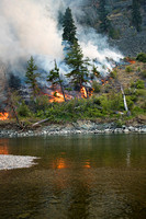 At The Snowy Mtn Fire - Ken James