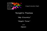 February 2020 - My Country & Night Time