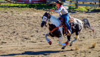 Girl on a Horse by Tom O'Brien